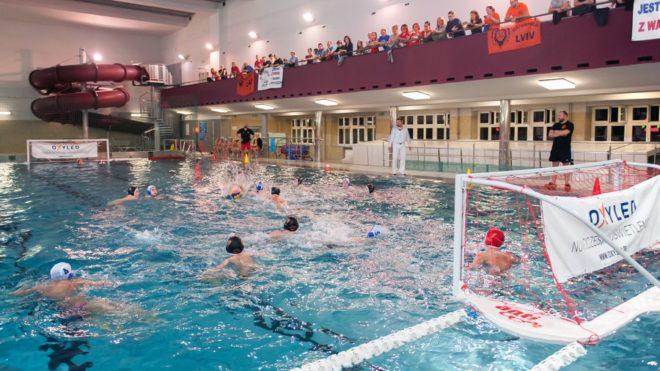 Turniej piłki wodnej na Parkowej
