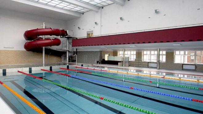 Zawody na basenie 3 marca