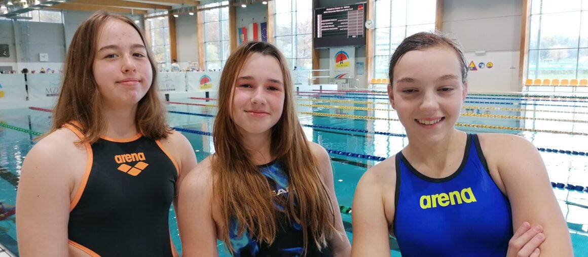 Srebrna Oliwia i Sarah Mistrzostwa Śląska 13-to latków
